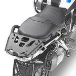 _Adaptador Posterior Específico en Aluminio para Maleta Monokey Givi BMW R 1250 GS 19-21 Negro | SRA5108B | Greenland MX_