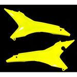 _Tapas Caja Filtro Aire Acerbis Honda CRF 250 R 14-16 CRF 450 13-16 EU Amarillo Flúor | 0016892.061 | Greenland MX_