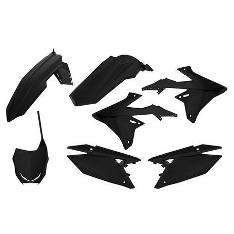 _Kit Plásticos Polisport Suzuki RMZ 250 19-20 RMZ 450 18-20 Negro | 90765-P | Greenland MX_