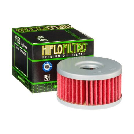 _Filtro de Aceite Hiflofiltro DR/DRZ 250-350 | HF136 | Greenland MX_