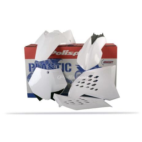 _Kit Plásticos Polisport KTM SX 07-10 SXF 07-10 EXC 08-11 EXCF 08-11 Blanco | 90128 | Greenland MX_