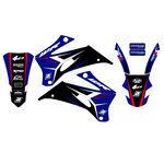 _Kit Adhesivos Blackbird Dream 4 Yamaha WR 250 F 07-14 WR 450 F 07-11 | 2234N | Greenland MX_