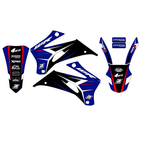 _Kit Adhesivos Blackbird Dream 4 Yamaha WR 250 F 07-14 WR 450 F 07-11 | 2234N | Greenland MX_