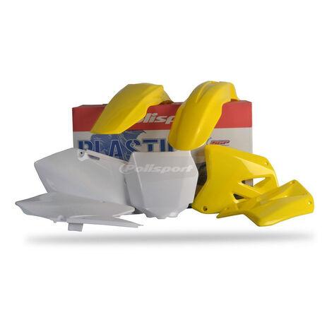 _Kit Plásticos Polisport Suzuki RM 125/ 250 01-08 | 90095 | Greenland MX_