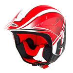 _Casco Shiro Trial K2 Grafic Rojo | 000736R-P | Greenland MX_