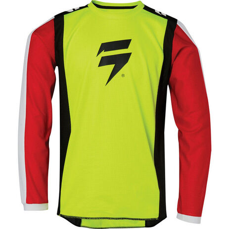 _Jersey Infantil Shift Whit3 Race 2 Amarillo Flúor | 24166-130 | Greenland MX_