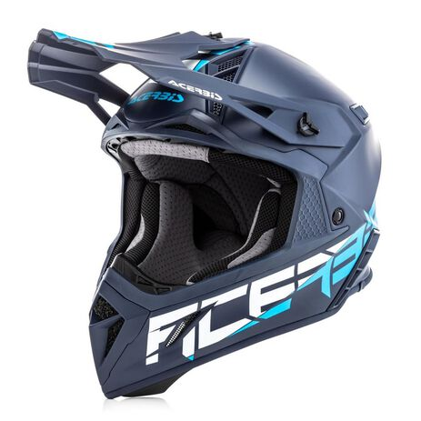 _Casco Acerbis Steel Carbon Azul | 0023424.040 | Greenland MX_