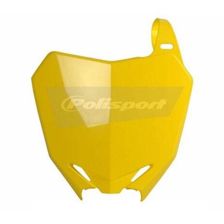 _Placa Frontal Polisport Suzuki RMZ 250 10-15 RMZ 450 08-15 Amarillo | 8659300001 | Greenland MX_