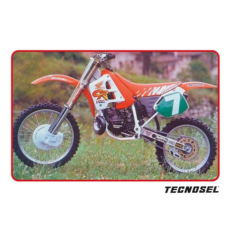 _Kit Adhesivos Tecnosel Replica Team Honda 1991 CR 125 91-92 CR 250 90-91 | 21V00 | Greenland MX_