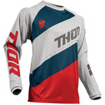 _Jersey Thor Sector Shear Gris/Rojo | 2910-4895-P | Greenland MX_