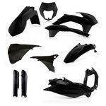 _Full Kit Plásticos Acerbis KTM EXC/EXC-F 14-15 Negro | 0017204.090-P | Greenland MX_