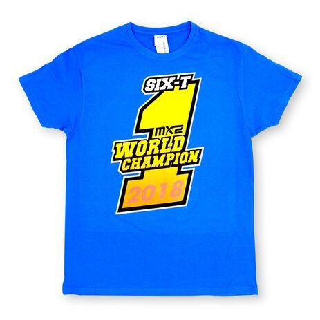 _Camiseta Jorge Prado Champion Azul | JP61-300BL | Greenland MX_