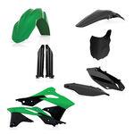 _Full Kit Plásticos Acerbis Kawasaki KX 250 F 13-16 OEM 13   0016876.553-P   Greenland MX_