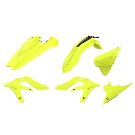_Kit Plásticos Polisport Beta X-Trainer 15-20 Amarillo Flúor | 90788 | Greenland MX_