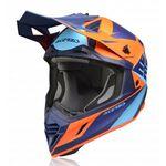 _Casco Acerbis X-Track VTR Azul/Naranja | 0023901.243 | Greenland MX_