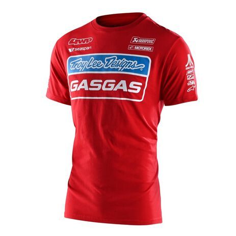 _Camiseta Troy Lee Designs Gas Gas Team Rojo | 701318002-P | Greenland MX_