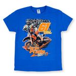 _Camiseta Jorge Prado Action Azul | JP61-200BL | Greenland MX_