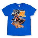 _Camiseta Jorge Prado Action Azul | JP61-200BL | Greenland MX_