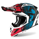 _Casco Airoh Aviator ACE Kybon Azul/Rojo Brillante | AVAK18 | Greenland MX_