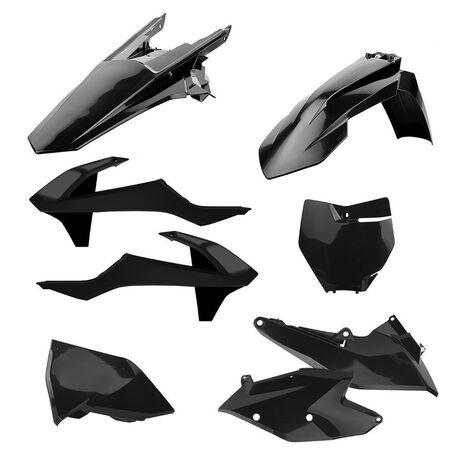 _Kit Plásticos Polisport KTM EXC/EXC-F 17 Negro   90709   Greenland MX_