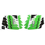 _Kit Adhesivos Rejilla Radiador Blackbird Kawasaki KX 250 F 09-16 | A402E | Greenland MX_