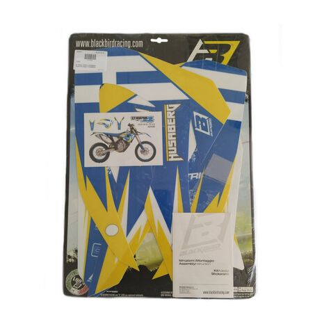 _Kit Adhesivos Blackbird Dream 4 Husaberg TE 11-12 FE/FS 09-12 | 2703N | Greenland MX_