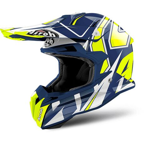 _Casco Airoh Terminator Open Vision Shock Blue Gloss 2018 | TOVSH18 | Greenland MX_