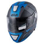 _Casco Givi X.23 Sidney Protect Titanio/Negro/Azul | HX23FPCTB | Greenland MX_