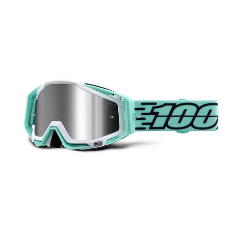 _Gafas 100% Racecraft Plus Flash Mirror Turquesa | 50120-339-P | Greenland MX_