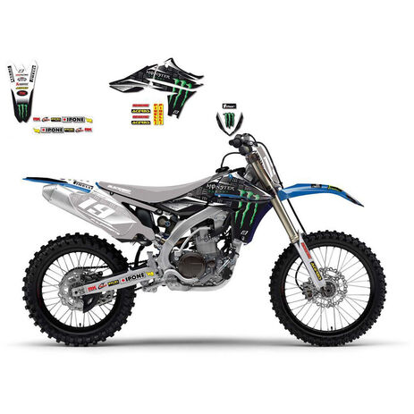 _Kit Adhesivos Blackbird Réplica Team Yamaha Monster Energy YZF 450 10-13 | 2240R | Greenland MX_
