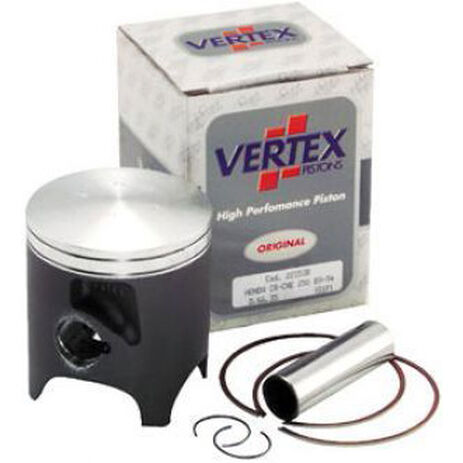 _Pistón Vertex Honda CR 125 90-91 1 Segmento | 2151 | Greenland MX_