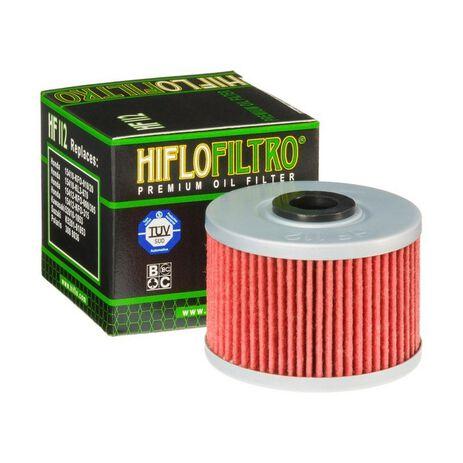 _Filtro de Aceite Hiflofiltro Kawasaki KX 450 F 06-15 Gas Gas FSR 450 08 | HF112 | Greenland MX_