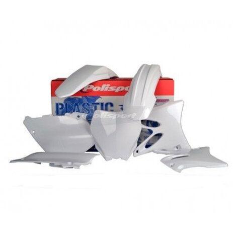 _Kit Plásticos Polisport Yamaha YZ 125/250 15-17 Blanco | 90648 | Greenland MX_