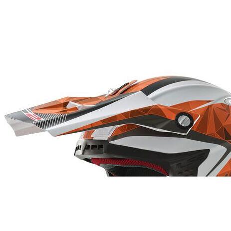 _Visera Recambio Casco LS2 MX 456 Light Quartz Blanco/Naranja   8001245660   Greenland MX_