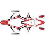 _Kit Adhesivos Completo Honda CRF 250/300/450/500 X 17-18 Rojo/Blanco/Negro | SK-CRFX1718RDWTBK-P | Greenland MX_