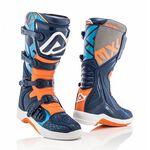 _Botas Acerbis X-Team Azul/Naranja | 0022999.243 | Greenland MX_
