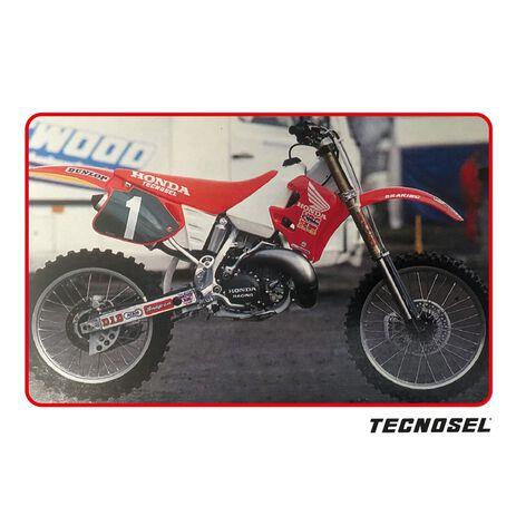 _Funda De Asiento Tecnosel Replica Team Honda 1992 Honda CR 125 93-97 CR 250 92-96   11V01   Greenland MX_