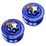 _Tapón Superior Horquilla Zeta Yamaha YZ 80/85 93-18 Azul | ZE56-10056 | Greenland MX_
