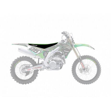 _Funda De Asiento Blackbird Replica Kawasaki Racing Team 2018 KX 450 F 19-20 | 1433R10 | Greenland MX_