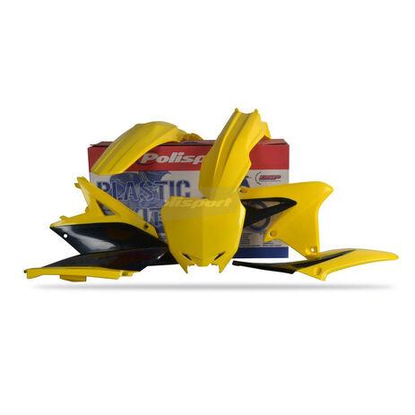 _Kit Plásticos Polisport Suzuki RMZ 250 10-18 | 90252 | Greenland MX_