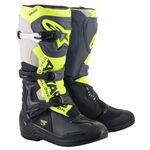 _Botas Alpinestars Tech 3 Negro/Gris/Amarillo | 2013018-1055 | Greenland MX_