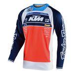_Jersey Troy Lee Designs SE Pro Boldor Team Naranja/Azul Marino   30177905-P   Greenland MX_