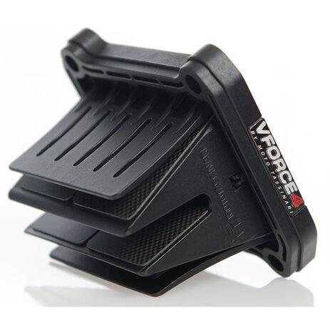 _Caja de Láminas Carbono V-Force 4 KTM EXC 250/300 04-16 SX 250 03-15 Husqvarna TC/TE 250/300 14-16 | V417A | Greenland MX_