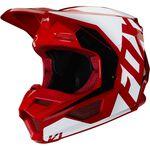 _Casco Infantil Fox V1 Prix Rojo Flame | 25478-122 | Greenland MX_