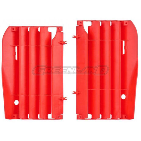 _Kit Rejillas Radiador Honda CRF 450 R 09-12 Rojo   8456400002   Greenland MX_