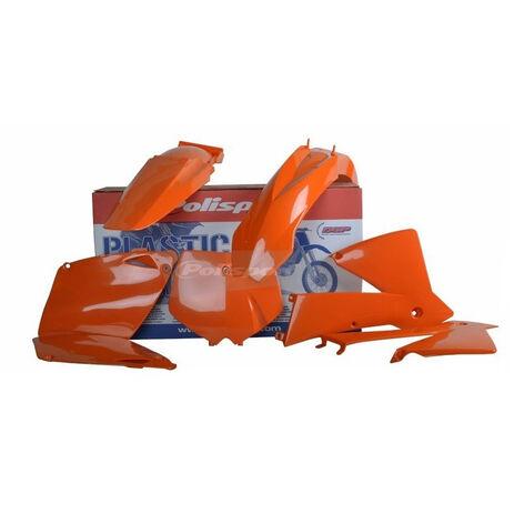_Kit Plásticos Polisport KTM EXC/EXC-F 01-02 Naranja | 90652 | Greenland MX_