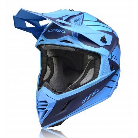 _Casco Acerbis X-Track VTR Azul | 0023901.040 | Greenland MX_