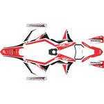 _Kit Adhesivos Completo Honda CRF 250/300/450/500 X 19-20 Rojo/Blanco/Negro | SK-CRFX1920RDWTBK-P | Greenland MX_