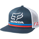 _Gorra Fox Honda Snapback Azul Marino | 22996-007 | Greenland MX_