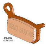 _Pastillas de Freno Delta Delanteras KTM SX 50 Pro Senior 02-13 SX 50 Senior 02-07 | DB2360 | Greenland MX_